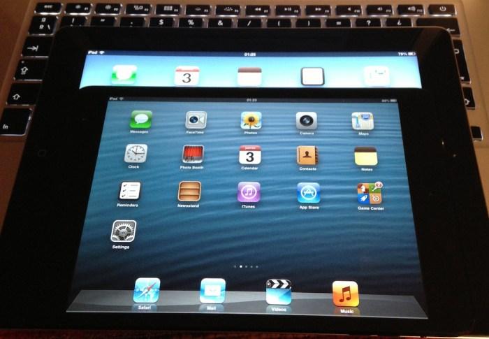 aplicaciones para ipad mini y ipad