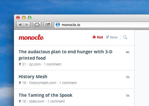 monocle conversacion online
