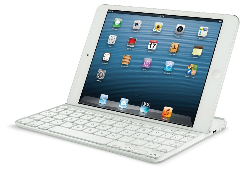 iPad Mini con Logitech Ultrathin