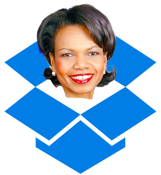 condolezza rice dropbox