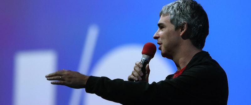 Larry Page en Google IO