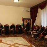 """اتّحاد """"أورا"""" في زيارة تهنئة للرئيس العام الجديد للرهبانية اللبنانية المارونية ومجلس مدبّريه"""