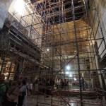 ترميم كنيسة المهد أشبه بلمس السماء