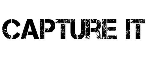 Capture font
