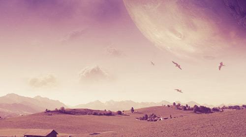 landscape photo manipulation