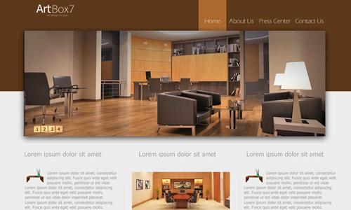 stylish elegant web layout tutorial
