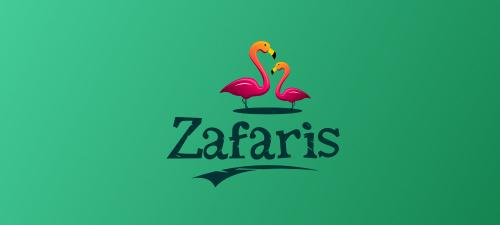 safaris animal logo design