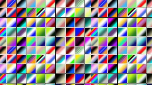new amazing photoshop gradient