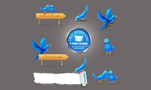 twitter icons tweet
