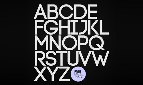 Code Free Font 3