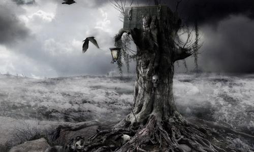 Halloween Photoshop Tutorials - Mysterious Night