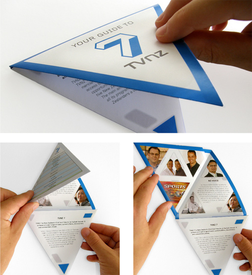 Brochure Design Examples - TVNZ 7