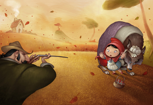digital-painting-05-little-red-riding-hood