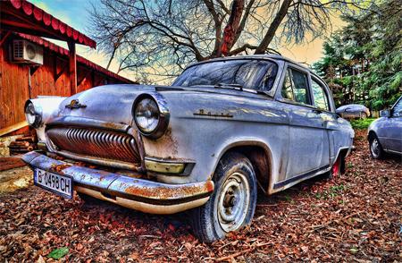 Volga car HDR