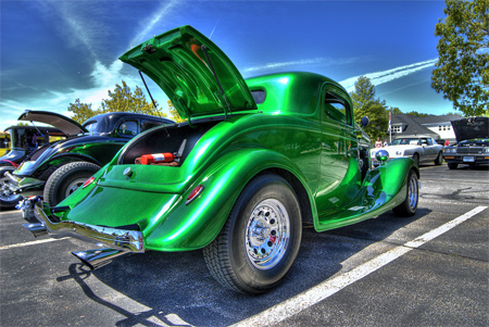 1934 Ford Coupe HDR