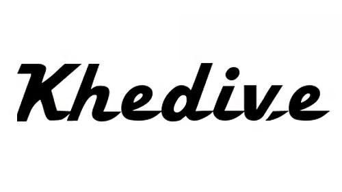 Khedive font