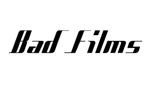Bad Films font