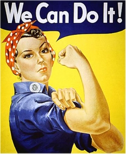 Rosie the Riveter - 3 Stupid-basic Business Registration Tips