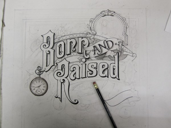 """""""Born and Raised"""" Album Cover Design by David A. Smith via YouTheDesigner"""