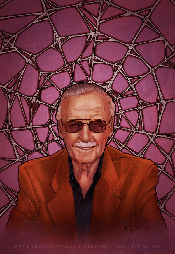 """Stan Lee cover"" by bullsik"