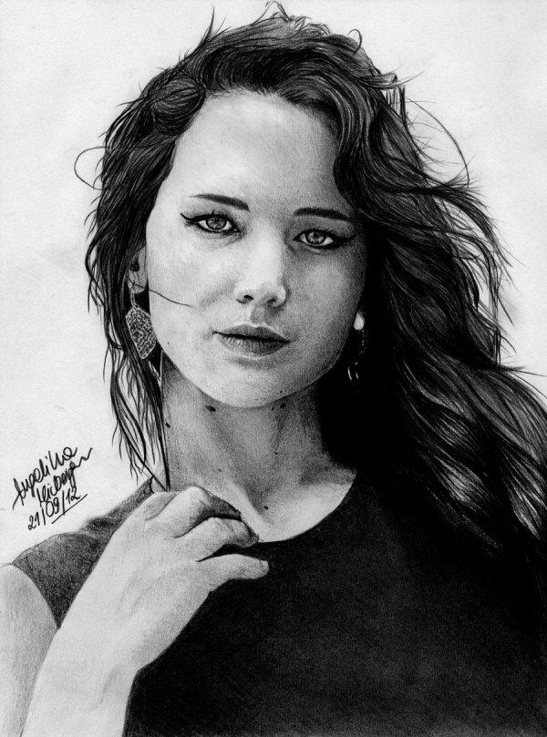 Jennifer Lawrence by zgirl3210