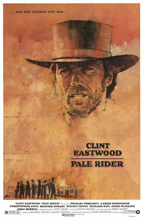 Pale Rider poster design by Bill Gold