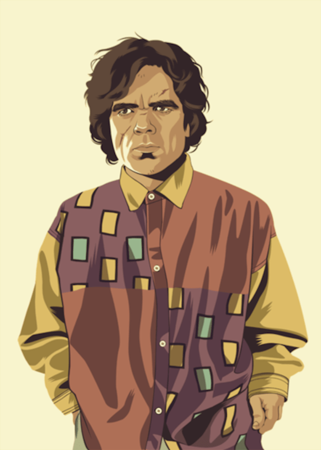 Tyrion Lannister | Illustration by Mike Wrobel