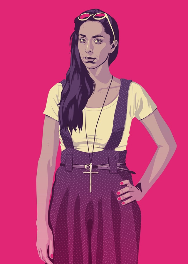 Talisa Stark | Illustration by Mike Wrobel