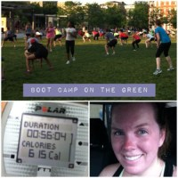 Workout on the Green | Cincinnati Washington Park