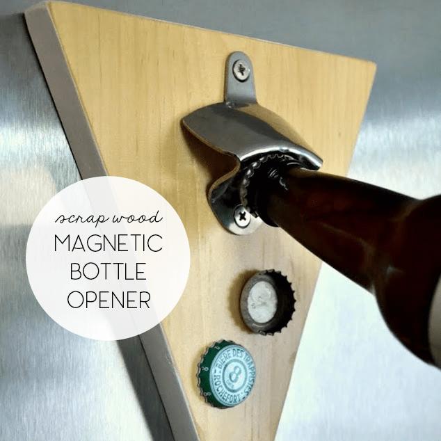 diy magnetic bottle opener