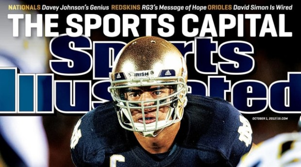 Manti Te'o Sports Illustrated