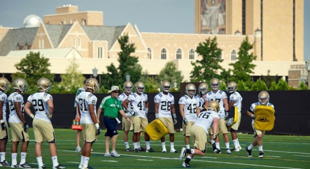 Notre Dame Football - 2013 Fall Camp