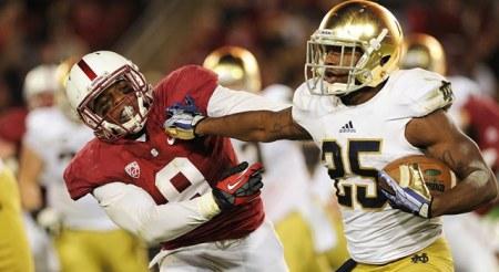 Tarean Folston - Notre Dame vs. Stanford