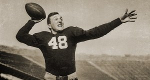 Angelo Bertelli - 1943 Heisman Trophy Winner