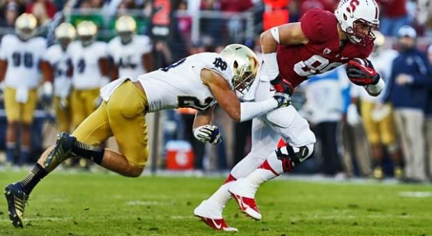 Austin Collinsworth - Out vs. Rice
