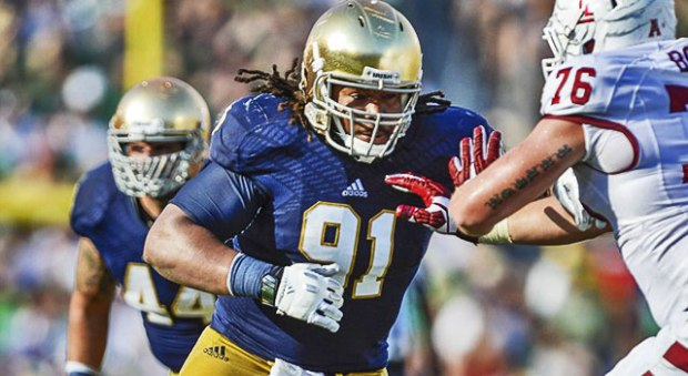 Sheldon Day - Notre Dame Captain