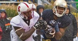 Cole Luke - Interception vs. Stanford