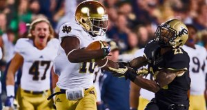 Davaris Daniels - Notre Dame WR going to NFL
