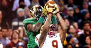 Chris Brown - Notre Dame WR vs. Boston College