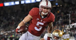Notre Dame contained Christian McCaffery last year but still fell short against Stanford. (Photo: Gary A. Vasquez // USA TODAY Sports)