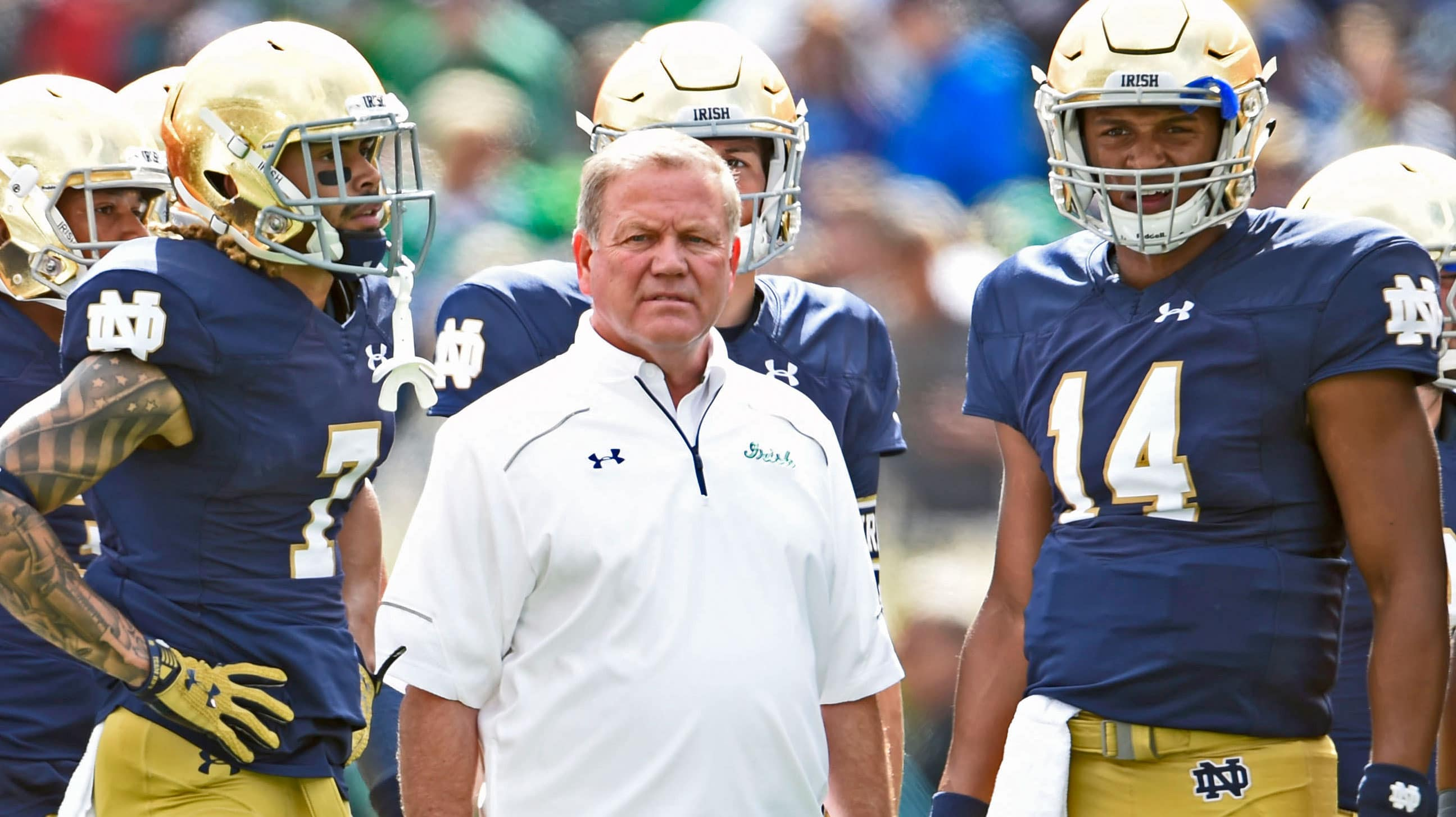 Both Will Fuller & Deshone Kizer made this list of the top 10 players of the Brian Kelly era