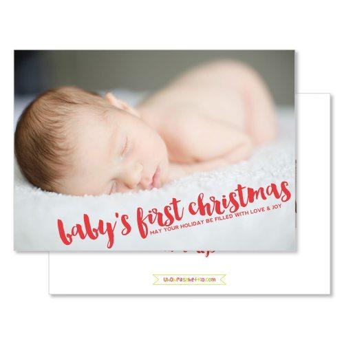 Medium Of Baby First Christmas