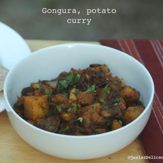 Gongura Potato Curry