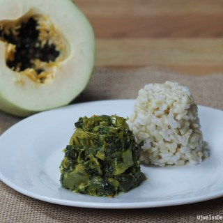 Moringa Papaya curry