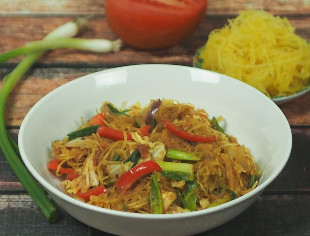 Spaghetti squash noodles
