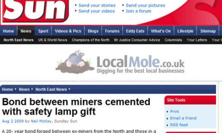 Solidarity between British and Kosovo Albanian miners