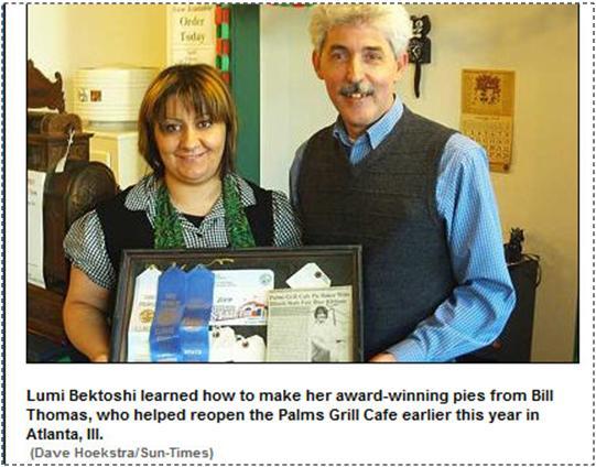 Albanian diaspora stories:  Award-winning pies