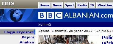 BBC shqip