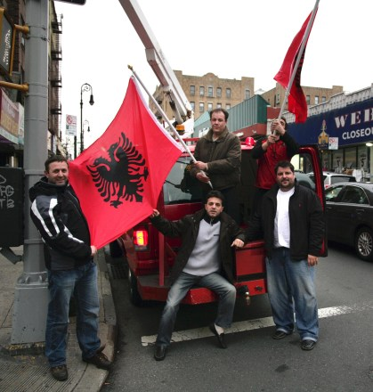 Bronx Albanians - Photo by Marino Belich, 2009