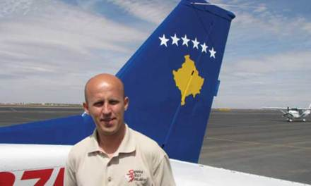 <!--:en-->Kosovo pilot lands in Zimbabwe <!--:-->